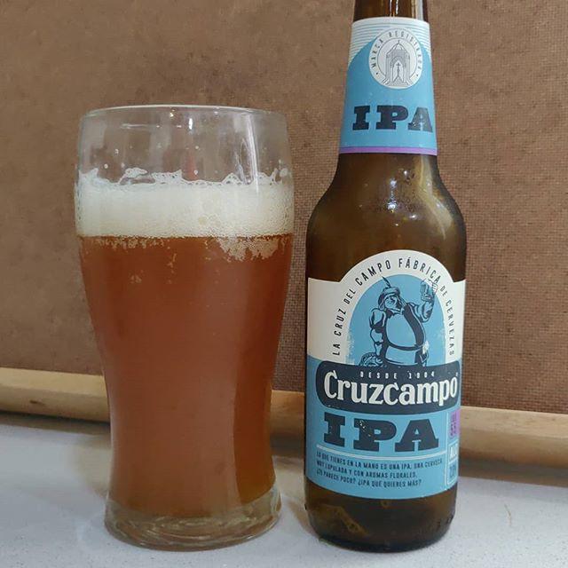 Cerveza Cruzcampo IPA