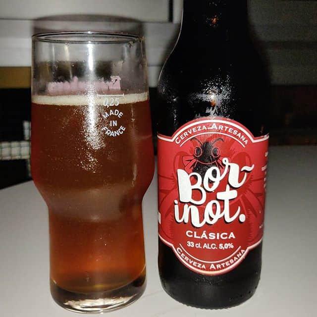 Cerveza Borinot Clásica