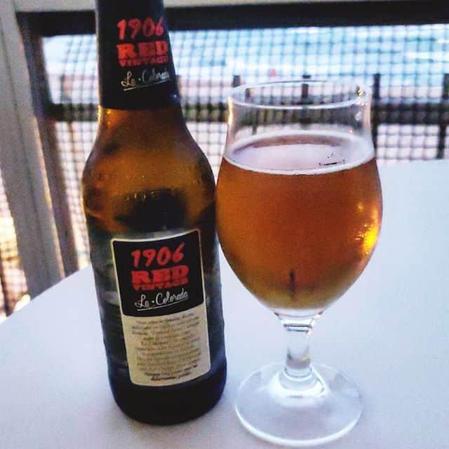 Cerveza Estrella Galicia 1906 Red Vintage