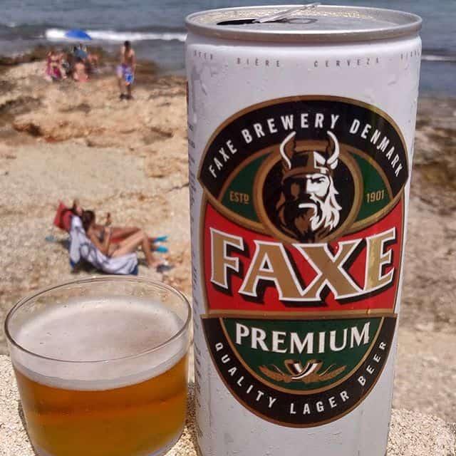 Cerveza Faxe Premium