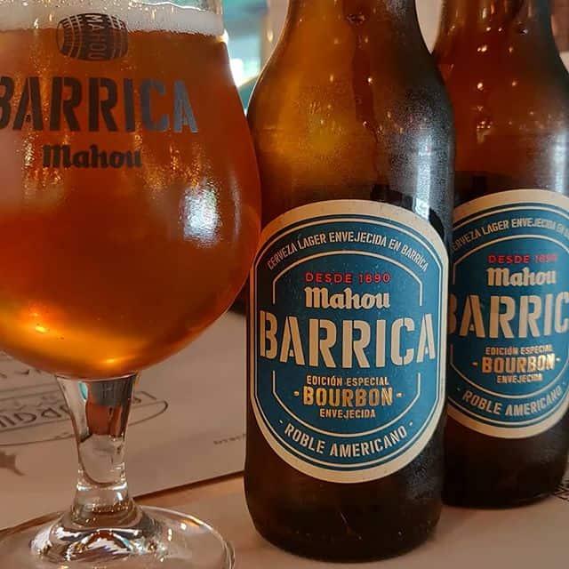 Cerveza Mahou Barrica Bourbon