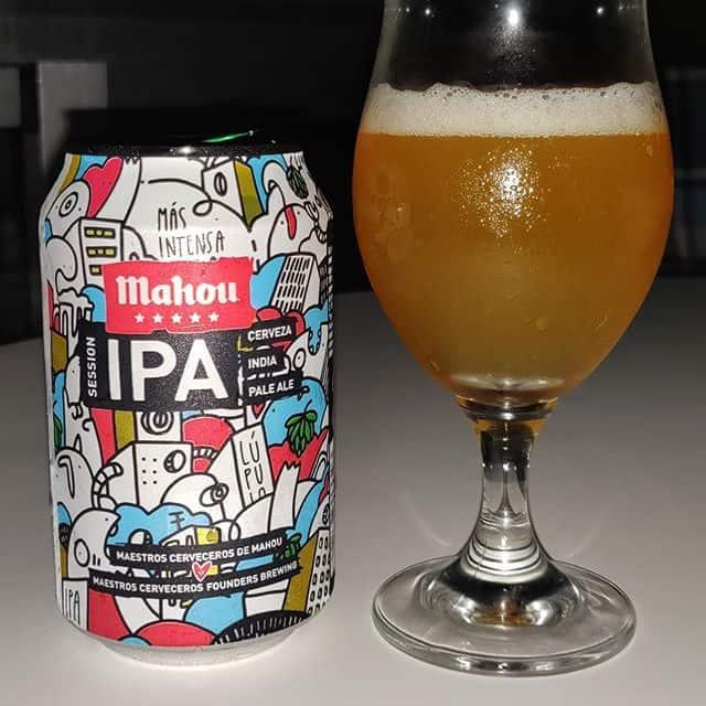 Cerveza Mahou Session IPA