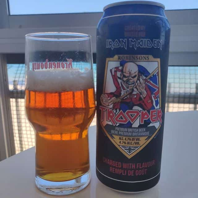 Cerveza Trooper Iron Maiden