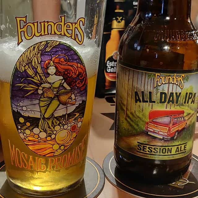 Cerveza Founders All Day IPA