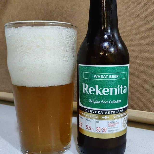 Cerveza Rekenita Wheat Beer,