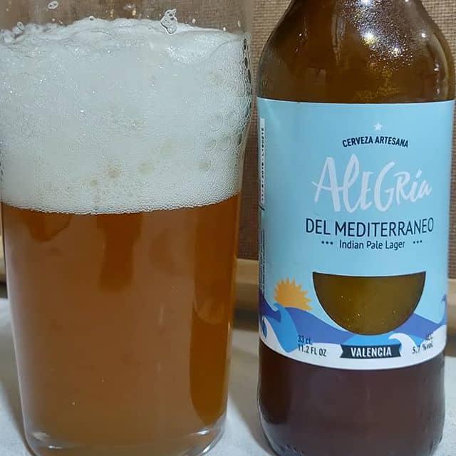Cerveza Alegría del Mediterráneo