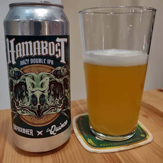 Cerveza Hamabost Hazy Double IPA