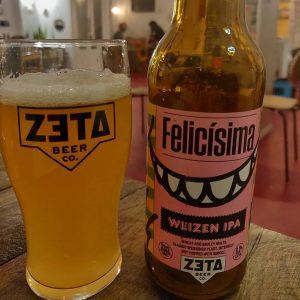 Cerveza Felicísima de ZETA BEER