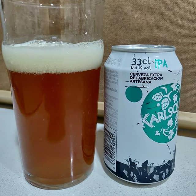 Cerveza IPA de Arriaca para la marca Karlsquell