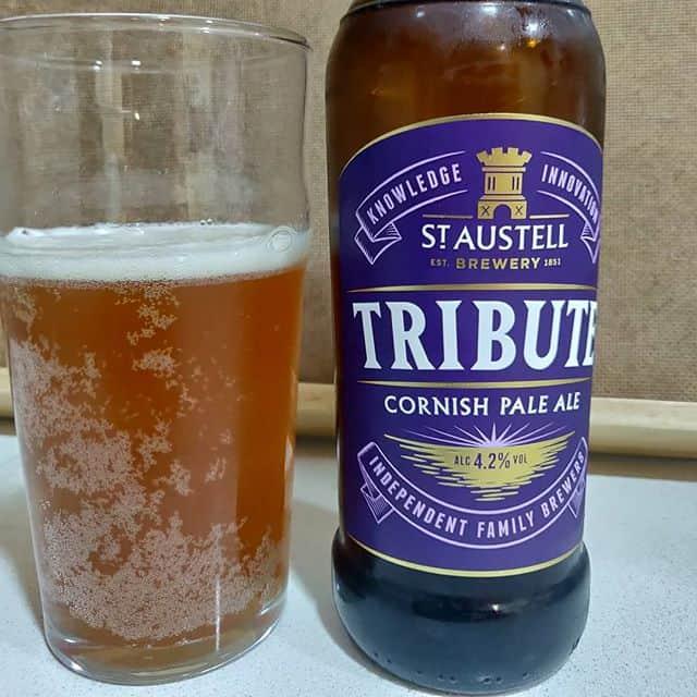 Cerveza Tribute de St Austell