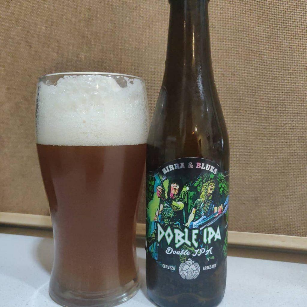 Cerveza Doble IPA de Birra & Blues
