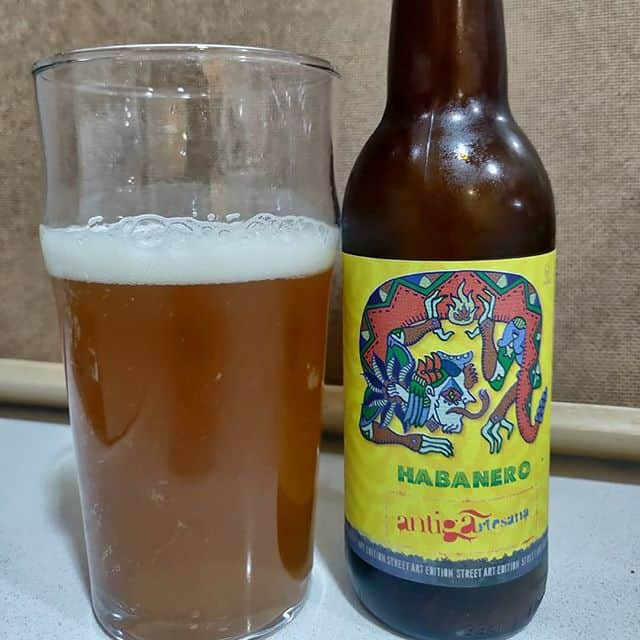 Cerveza Habanero de antiga artesana