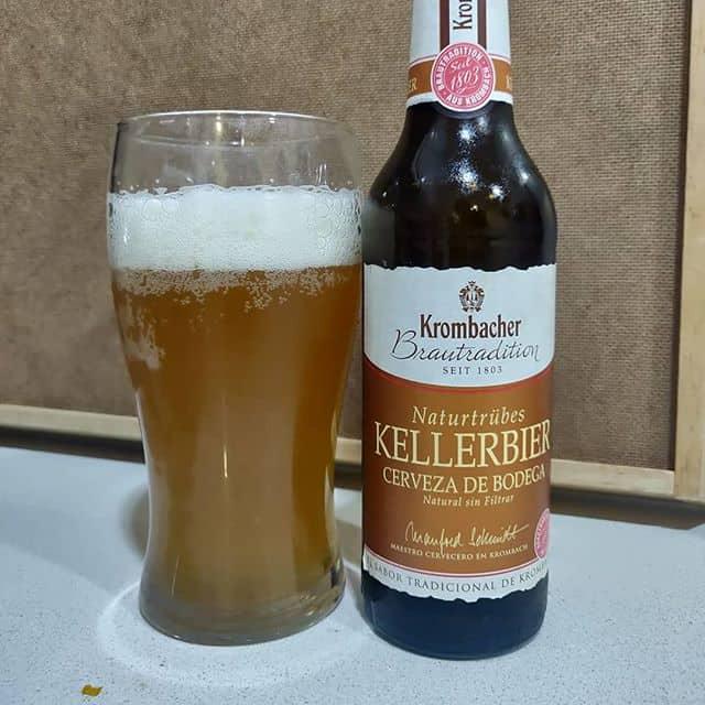 Cerveza Krombacher Kellerbier