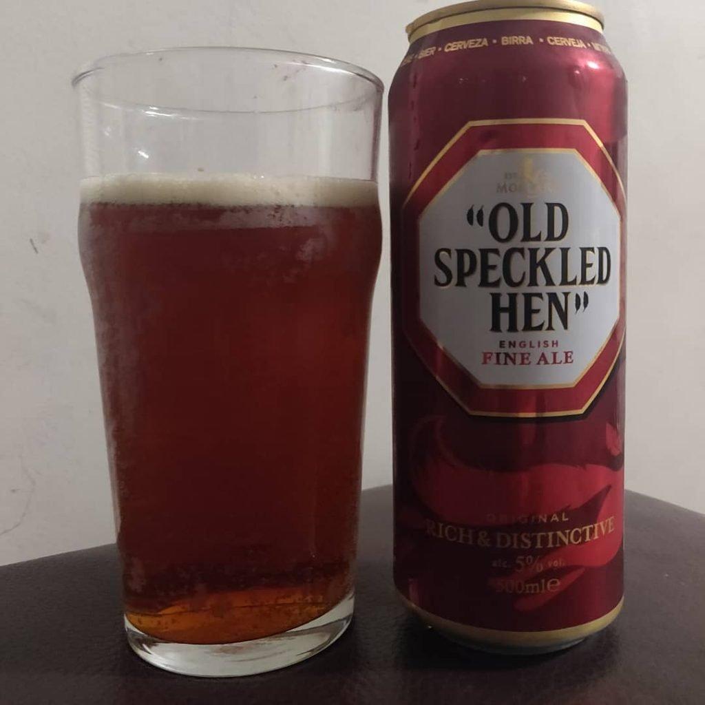 Cerveza Old Speckled Hen
