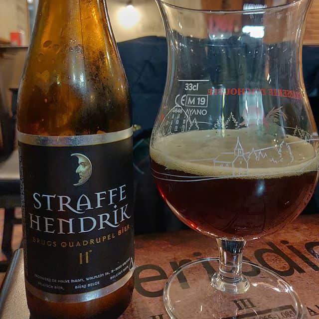 Cerveza Straffe Hendrik quadrupel
