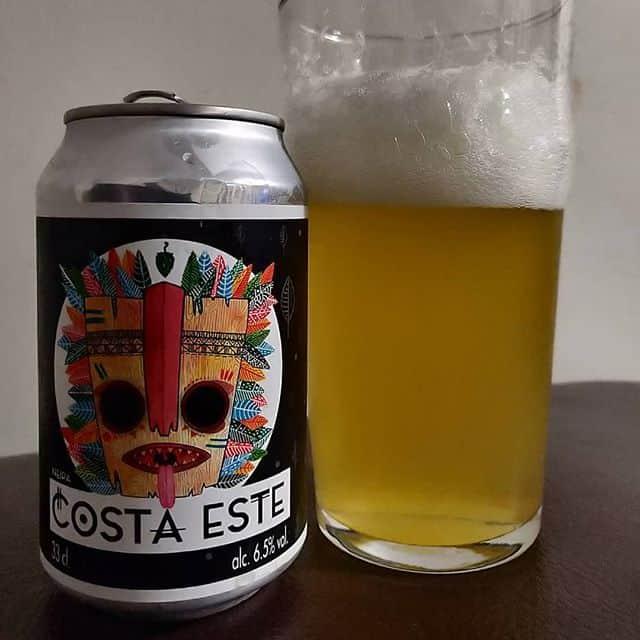 Cerveza Costa Este de cervezas Althaia