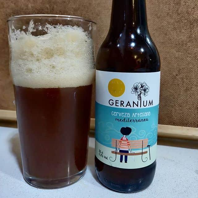 Cerveza Geranium Amber Ale
