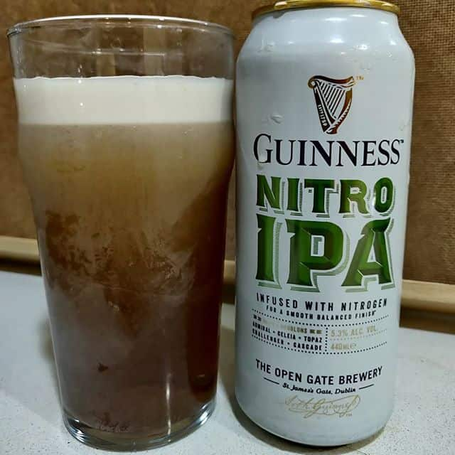 Cerveza Guinness Nitro IPA