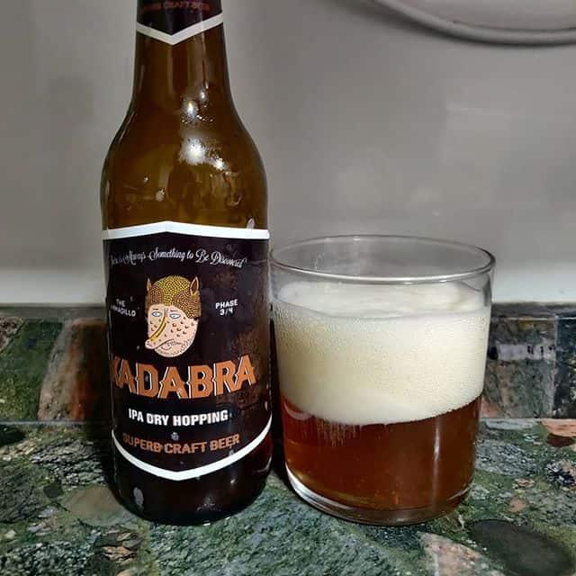 Cerveza Kadraba IPA dry hopping