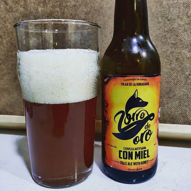 Cerveza Zorro de Oro