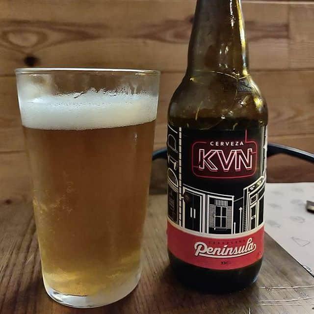 Cerveza KVN Península