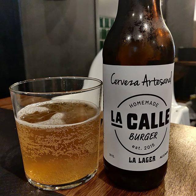 Cerveza La Calle Lager
