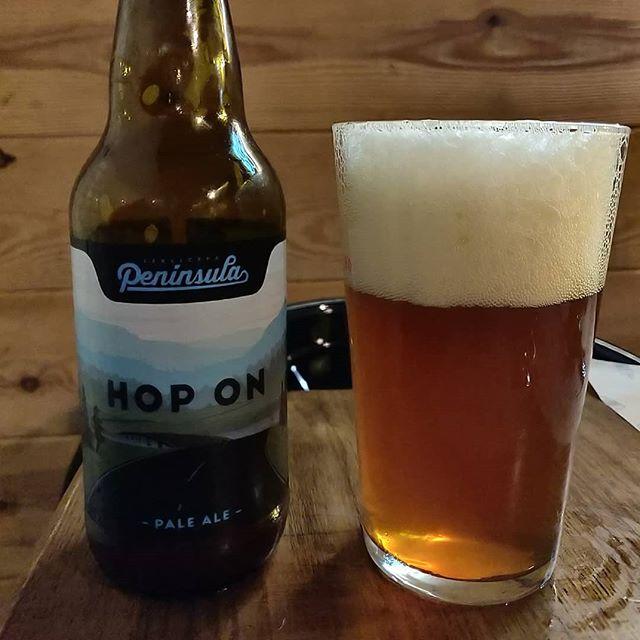 Cerveza Península Hop On
