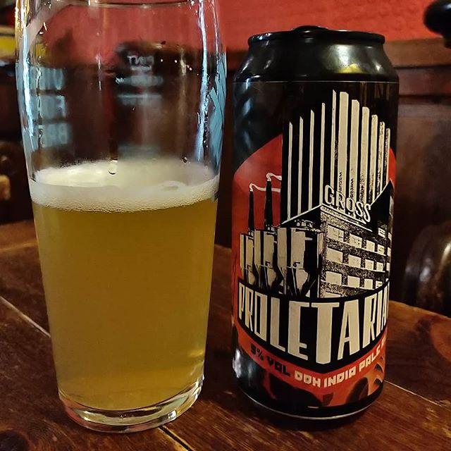 Cerveza Proletarit de Gross.