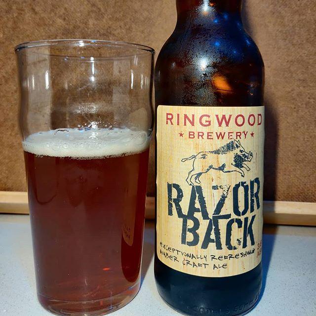 Cerveza Razor Back
