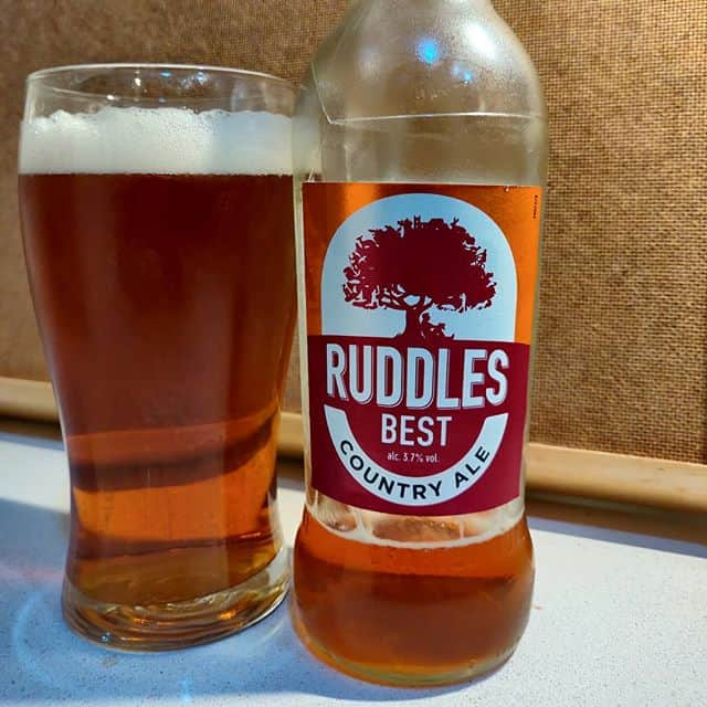 Cerveza Ruddles Best Country Ale