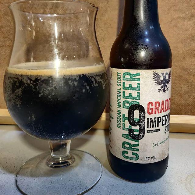 Cerveza 9 Grados de antiga artesana