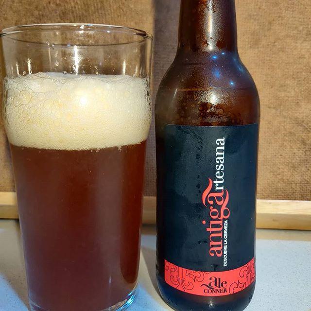 Cerveza Ale Conner de antiga artesana