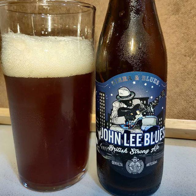 Cerveza Jhon Lee Blues de Birra & Blues