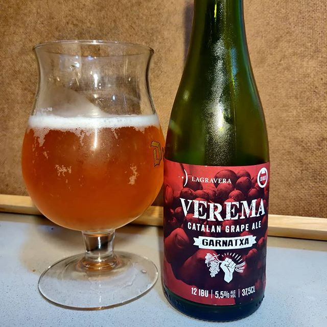 Cerveza Lo Vilot Verema Garnatxa Catalan Grape Ale