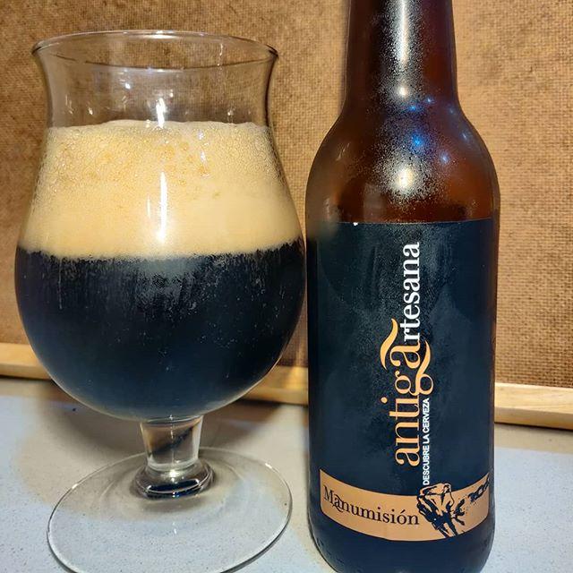 Cerveza Manumisión Porter