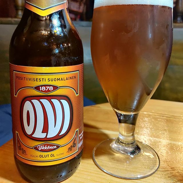 Cerveza Olvi Export
