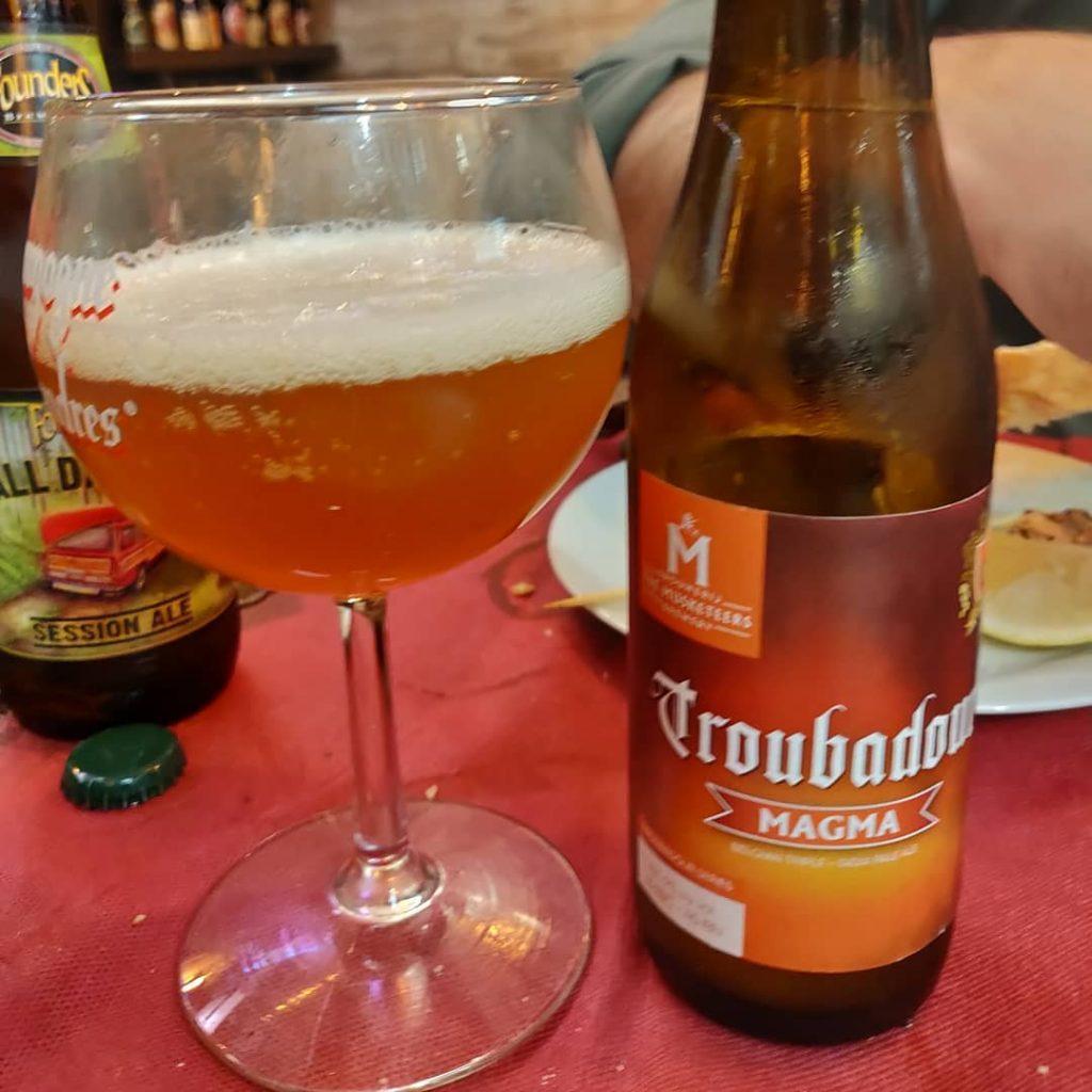 Cerveza Troubadour Magna