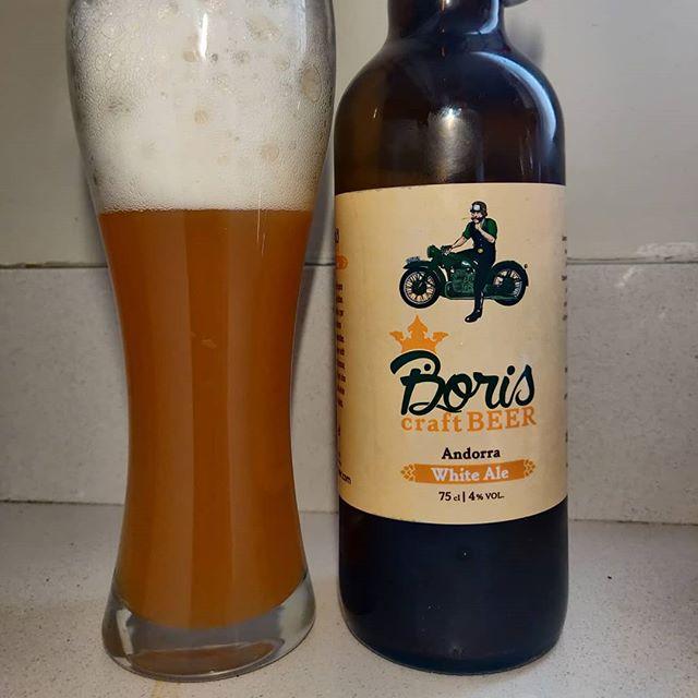 Cerveza Boris White Ale