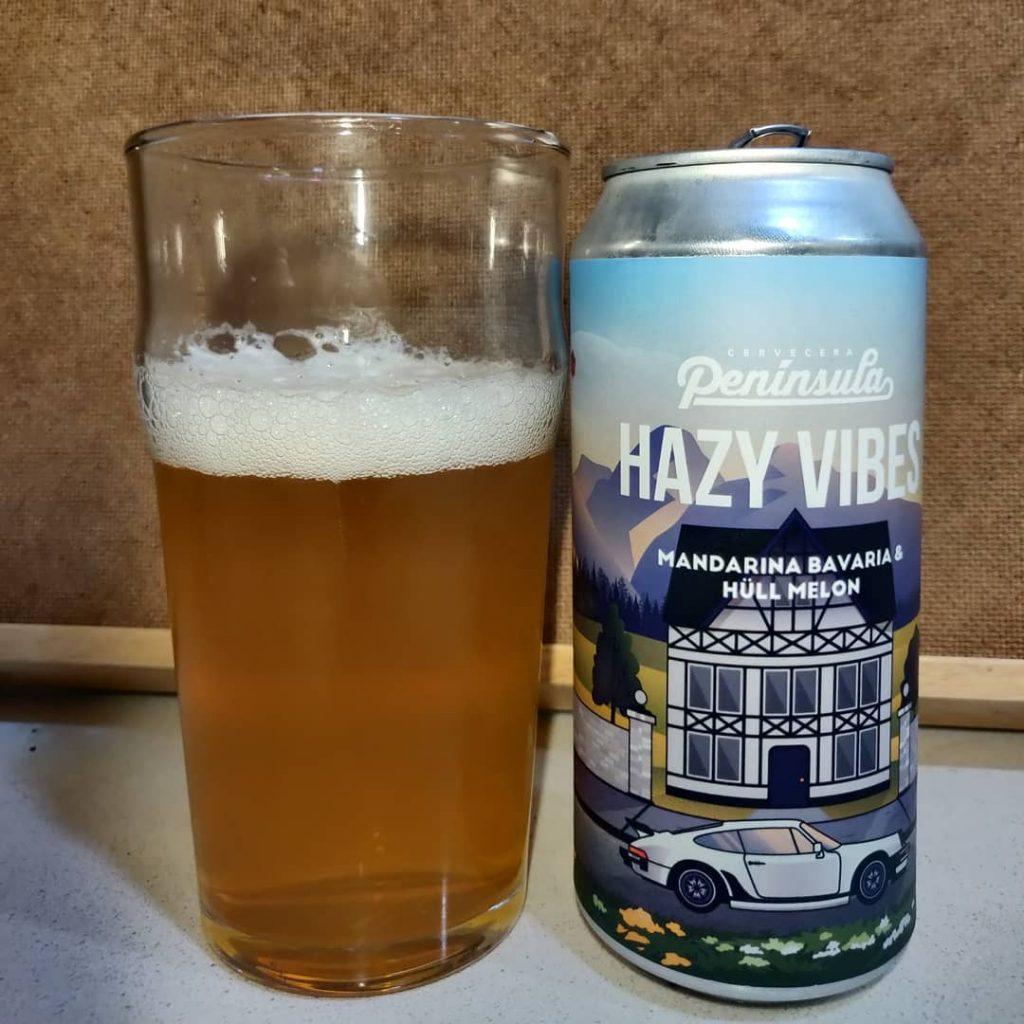Cerveza Hazy Vibes de Península