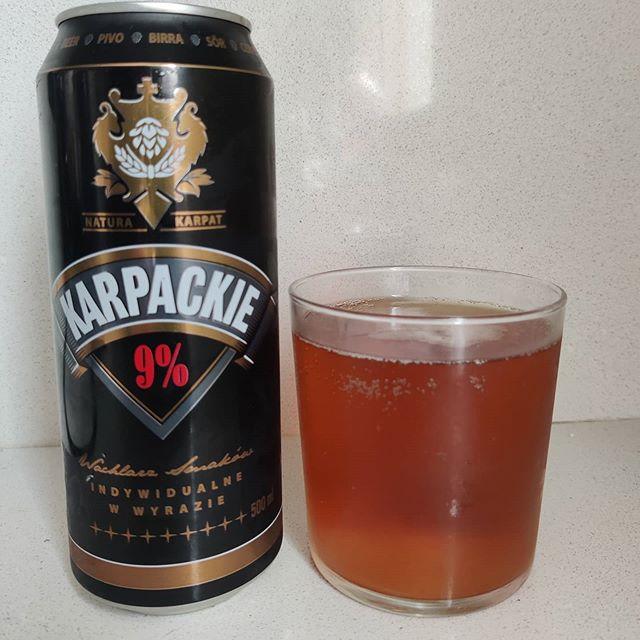 Cerveza Karpackie 9%