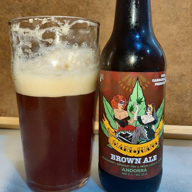 Cerveza Marijuana Brown Ale