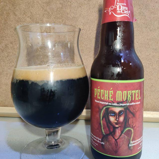 Cerveza Péché Mortel de Dieu du Ciel