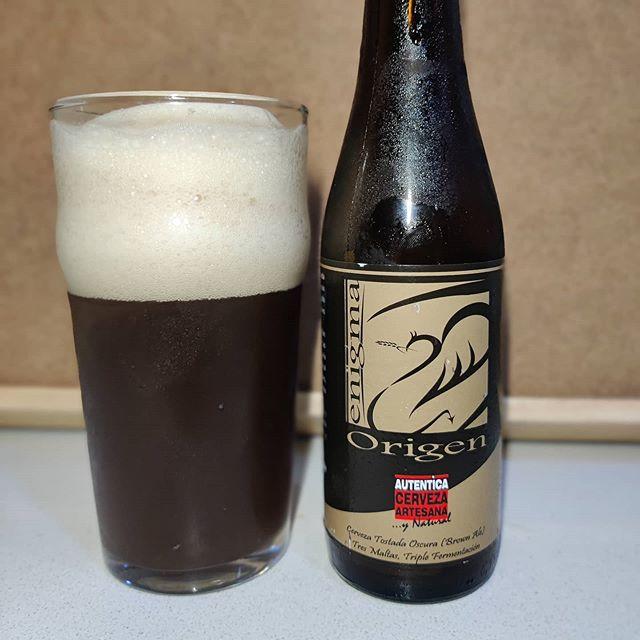 Cerveza Enigma Origen