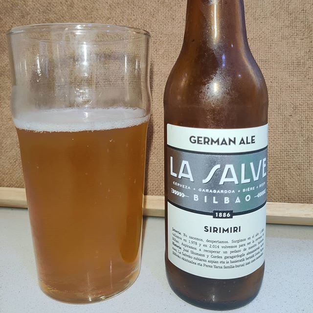 Cerveza La Salve Sirimiri