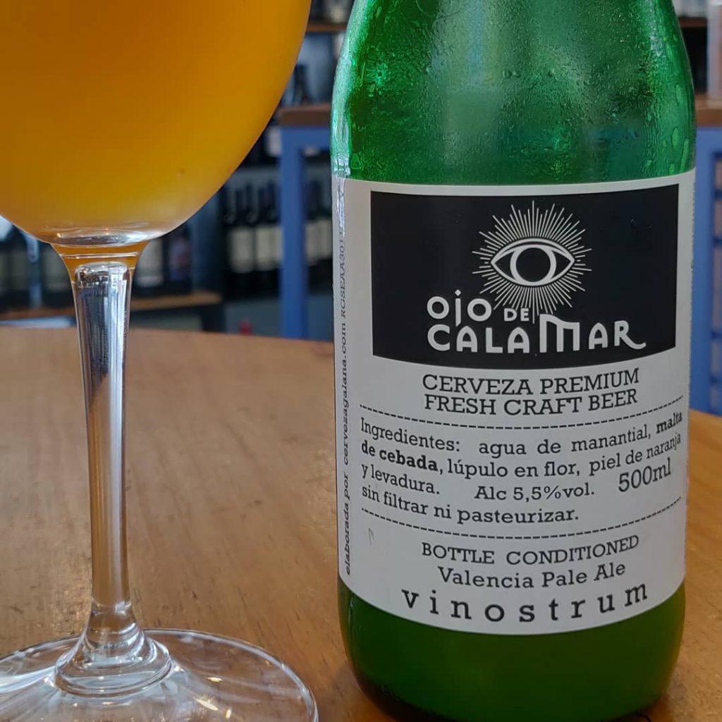 Cerveza Ojo de Calamar