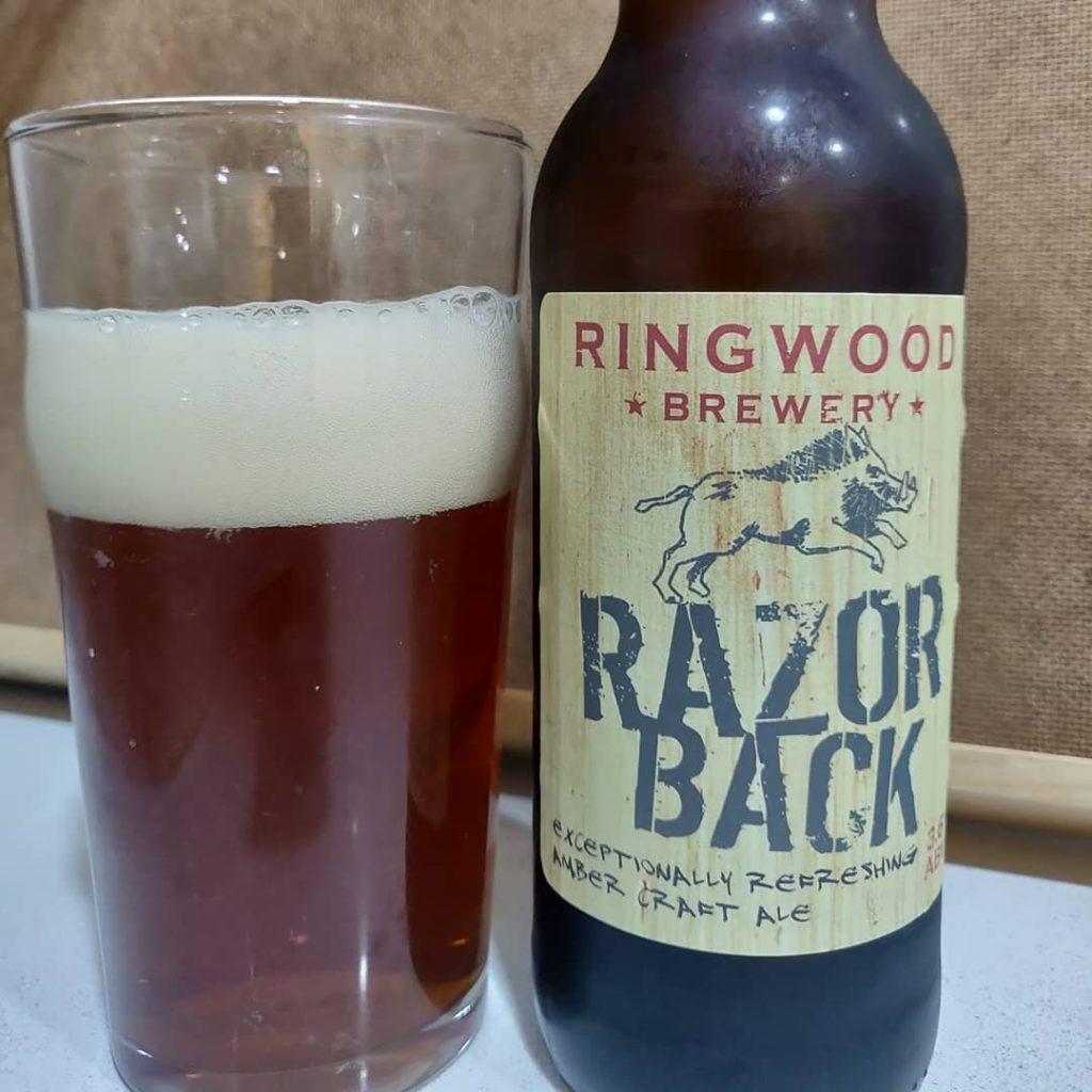 Cerveza Ringwood Razorback