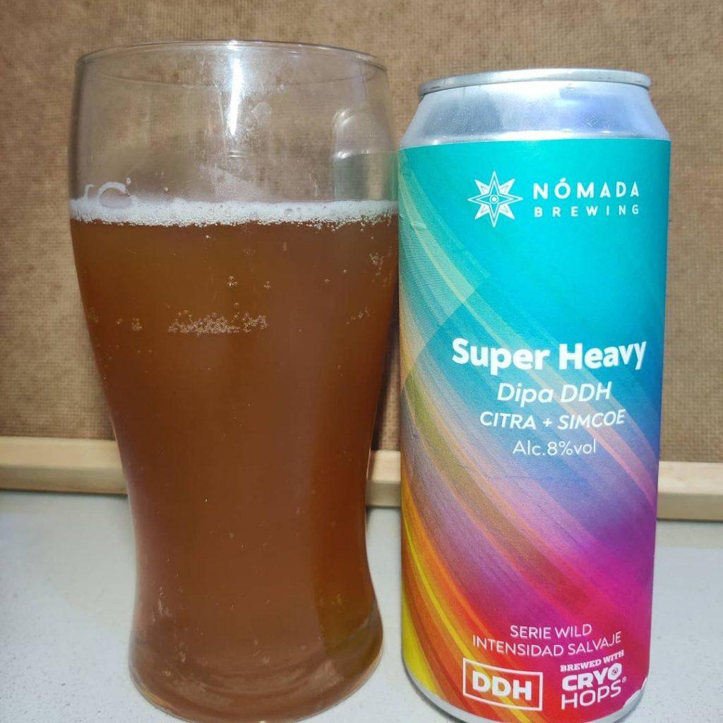 Cerveza Super Heavy de Nómada