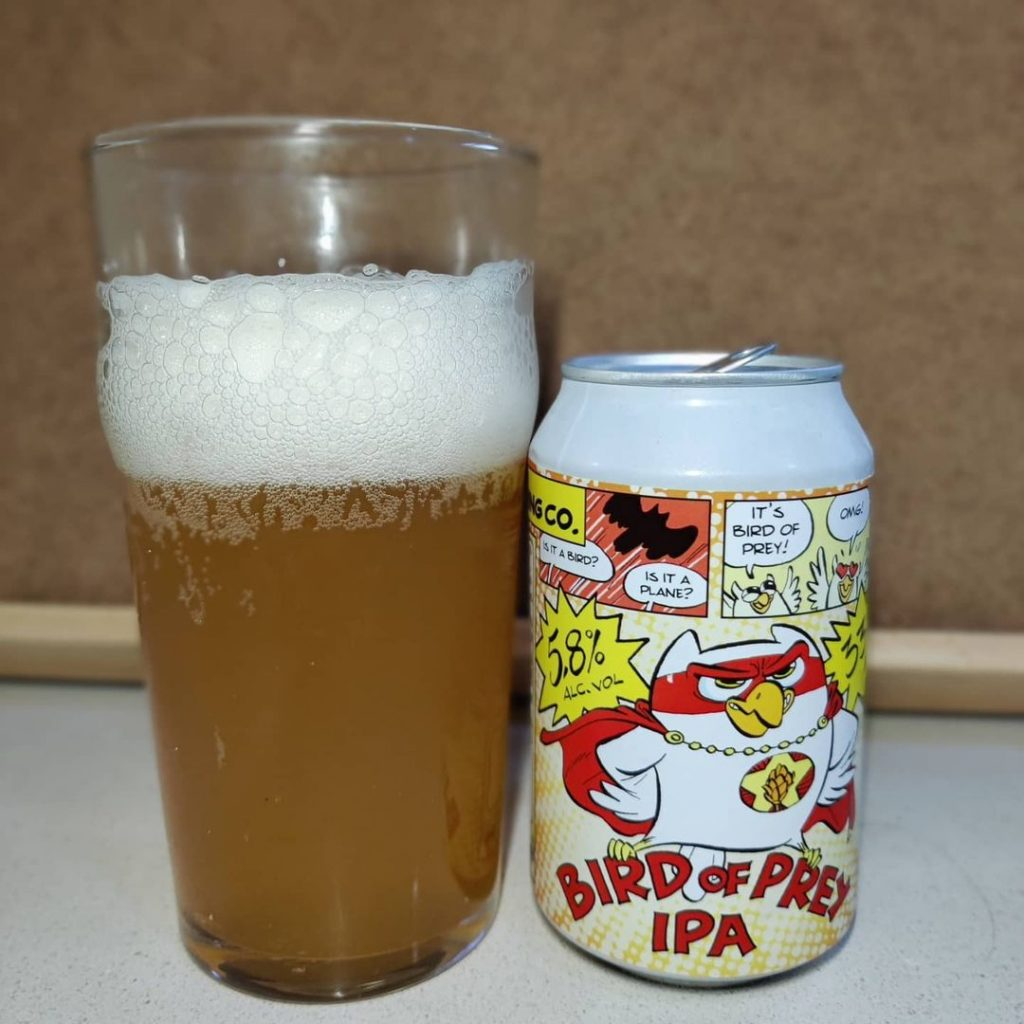 Cerveza Bird of Prey IPA