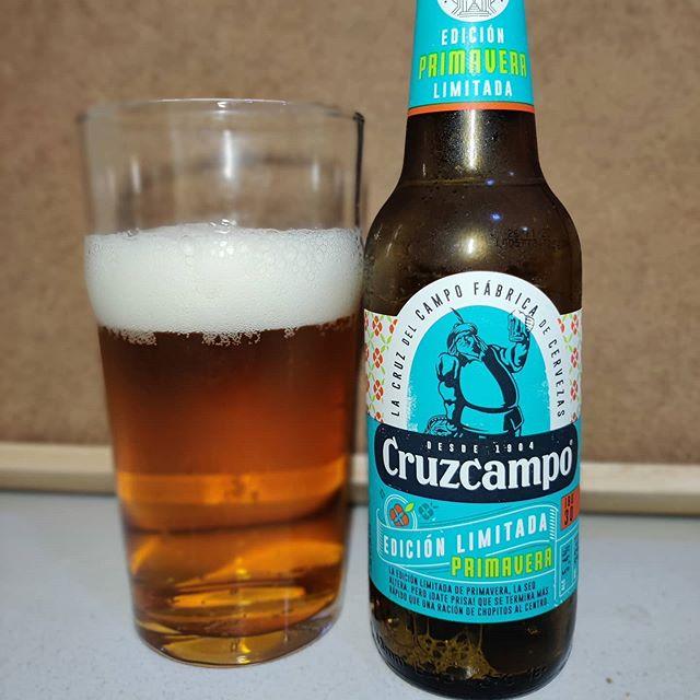 Cerveza Cruzcampo Edición Primavera