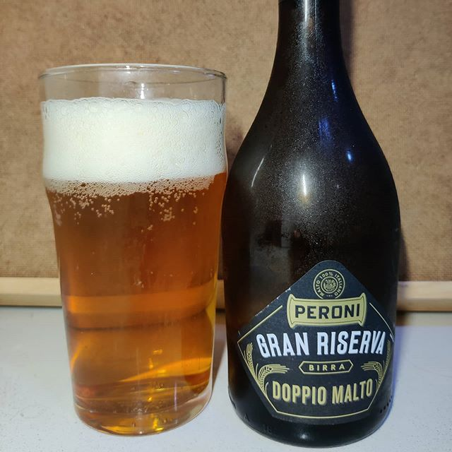 Cerveza Peroni Gran Reserva doble malta